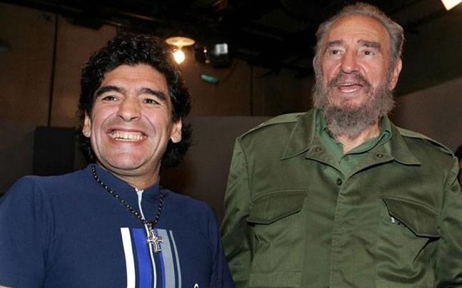 فیلم | مارادونا در اندوه مرگ کاسترو | مثل پدرم بود؛ برای آنها که شادی میکنند متاسفم