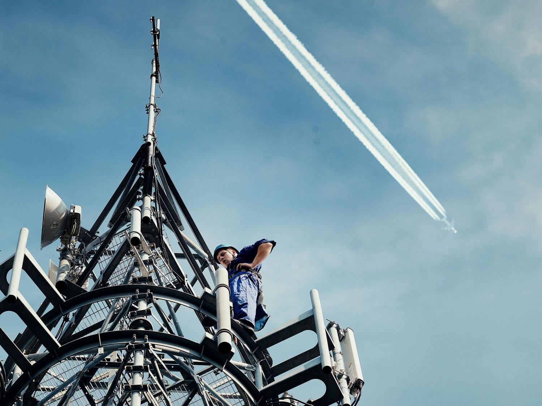 تست اینترنت ۴جی در هواپیماهای اروپا با کمک اینمارست و دویچه تلهکام