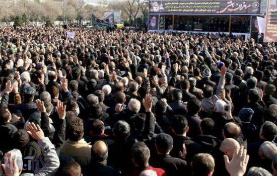 تشییع باشکوه جانباختگان حادثه قطار تبریز – مشهد