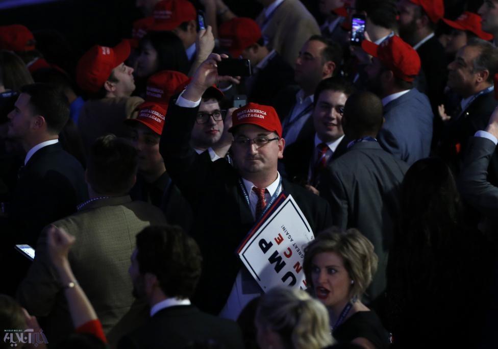16 11 9 7477download%20(7) - طرفداران ترامپ به پیشواز جشن پیروزی رفتند+عکس