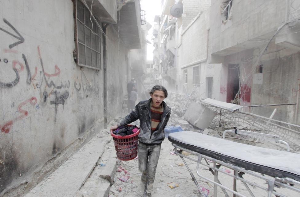 کودکان قربانی جنگ در حلب,کودکان جنگ,کودکان قربانی جنگ,کودکان زخمی,کودکان سوری