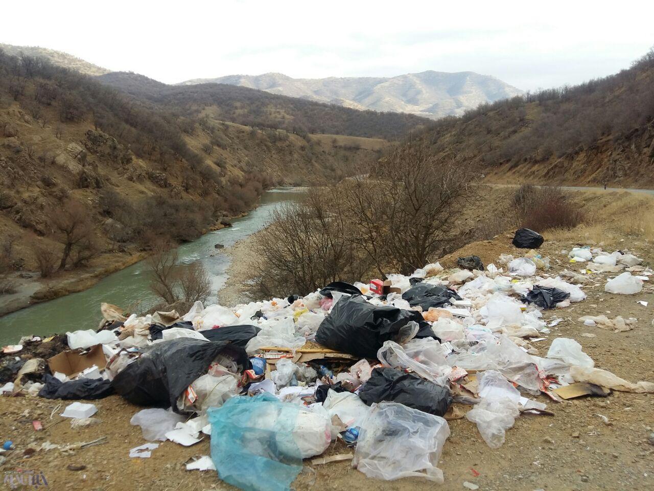 فاجعه زیست محیطی رودخانه زاب سردشت