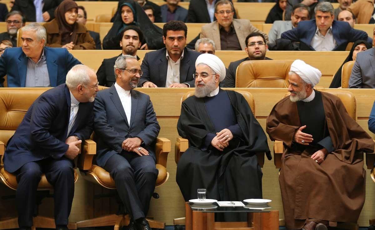 تصاویر | امضای روحانی بر منشور حقوق شهروندی | منشور حقوق شهروندی رونمایی شد