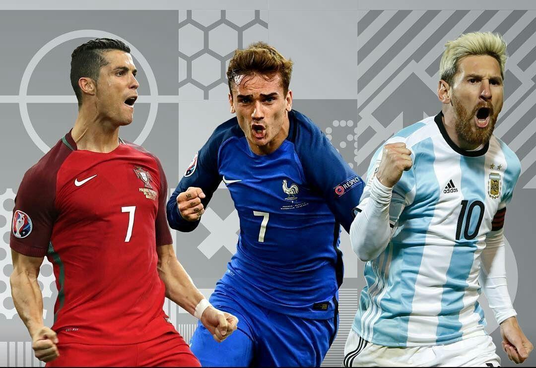 سه نامزد نهایی فیفا برای بهترین بازیکن جهان