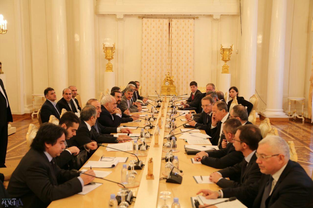 عکس   نشست سه جانبه وزرای امور خارجه ایران، روسیه و ترکیه برگزار شد