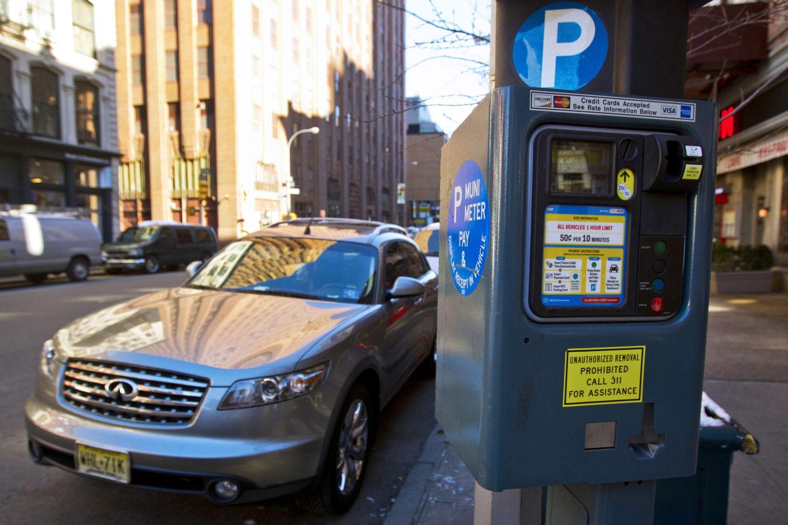کمترشدن استرس رانندگان نیویورکی با نصب پارکومترهای هوشمند