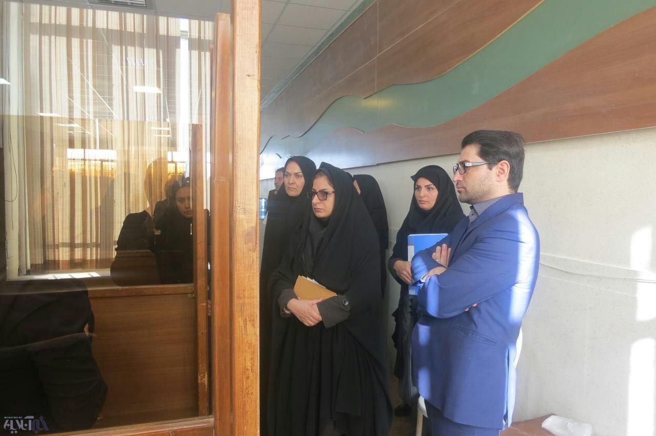 بازدید مدیرکل امور خانواده استانداری از اورژانس اجتماعی کرمانشاه
