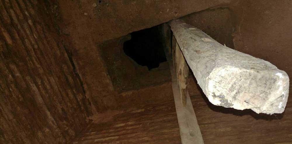 تصاویر | کشف معبر زیرزمینی مسقف در مسجد امام اصفهان
