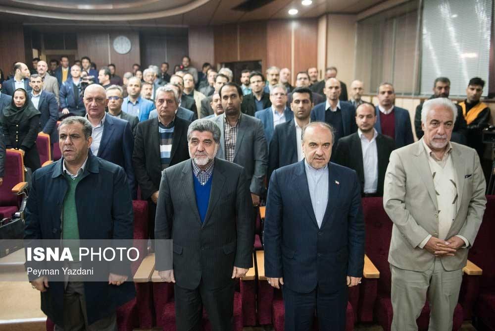 تصاویر   مراسم تقدیر از قهرمانان المپیک و پاراالمپیک تهران