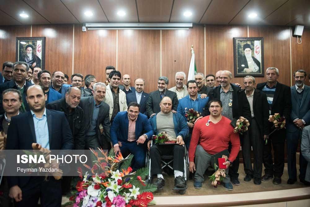 تصاویر | مراسم تقدیر از قهرمانان المپیک و پاراالمپیک تهران