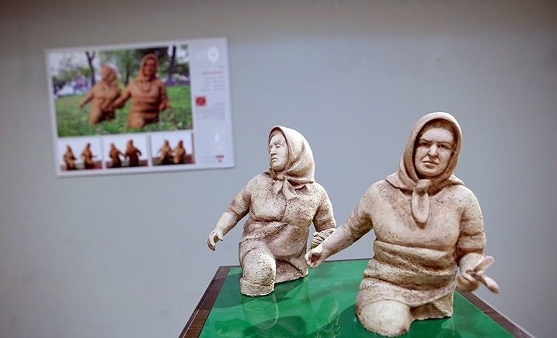 تصاویر | پنجمین دوسالانه مجسمه های شهری تهران