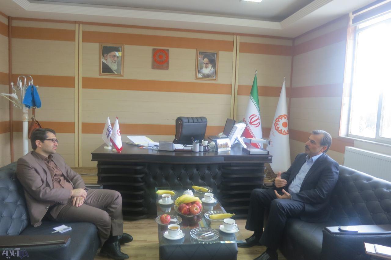 دیدار مدیرکل بهزیستی با مدیرکل پست استان کرمانشاه