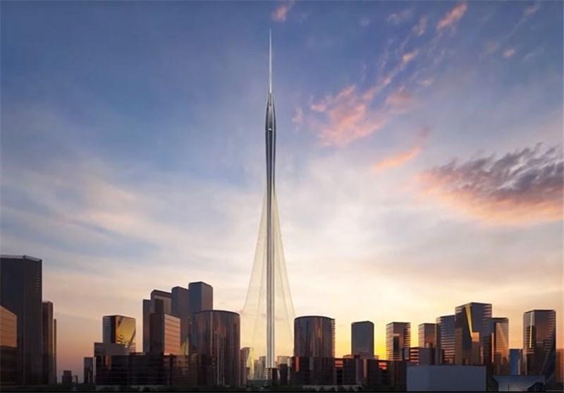 فیلم   ساخت بلندترین برج جهان در دبی   ویژگیهای ساختمانی بلندتر از برج خلیفه