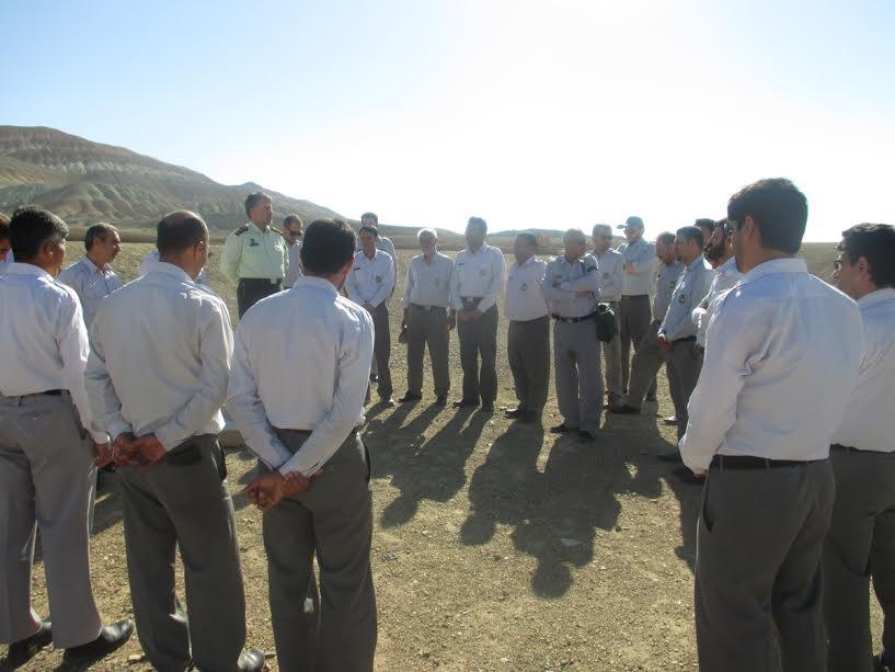 برگزاری دوره های آموزشی ویژه کارکنان یگان حفاظت از آثار تاریخی استان سمنان