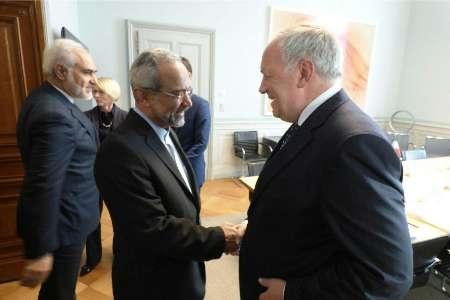نهاوندیان با رییس جمهوری سوئیس دیدار کرد
