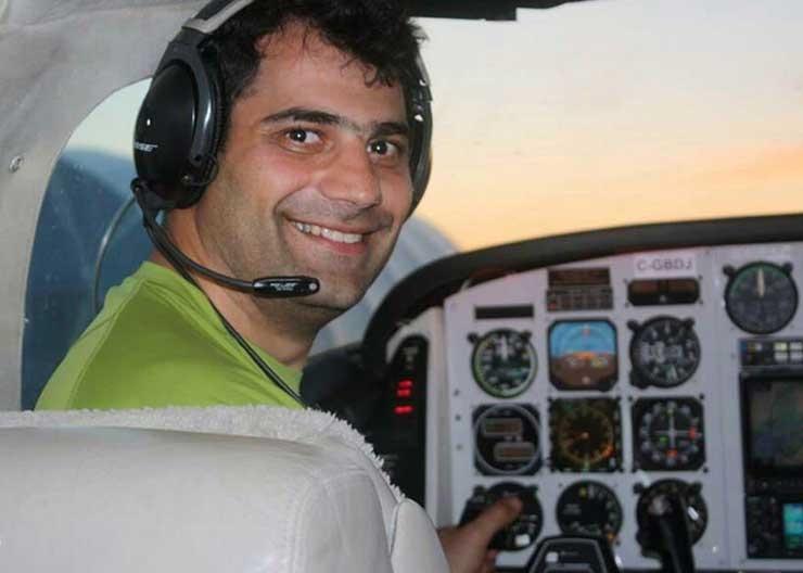 تصاویر   زندهیاد مهدی حبیبی تیز پروازترین پرنده آسیا   آخرین پرواز در آلپ