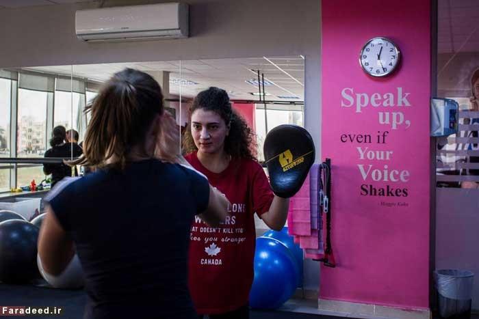 باشگاه هنرهای رزمی زنان در اردن