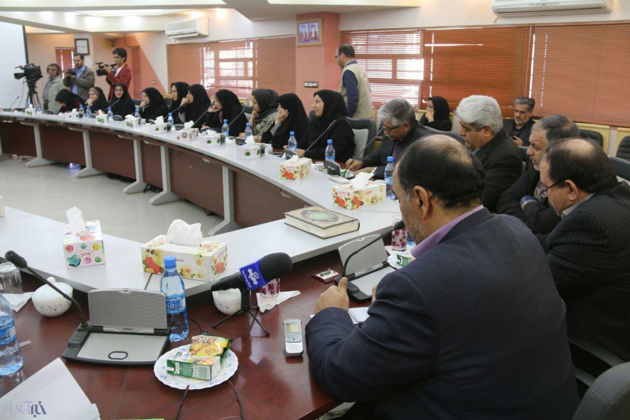 بازدید خبرنگاران استان یزد از معدن چغارت و صنایع جوار معدنی در بافق
