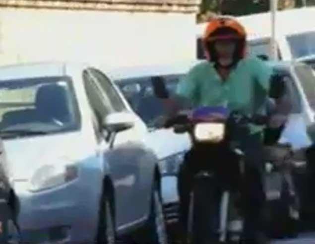 موتورسیکلتی که به جای بنزین با آب کار میکند