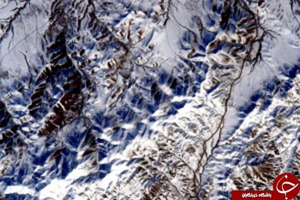 فضانورد آمریکایی در کوهپایه های ایران/عکس