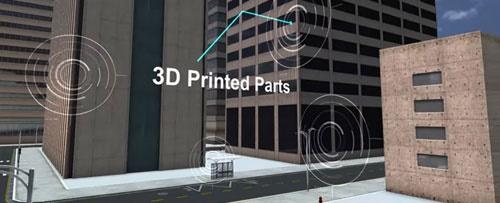 طرح سنگاپور برای خانهسازی با چاپ سه بعدی/پرینترهایی که بخشهای بتنی میسازند