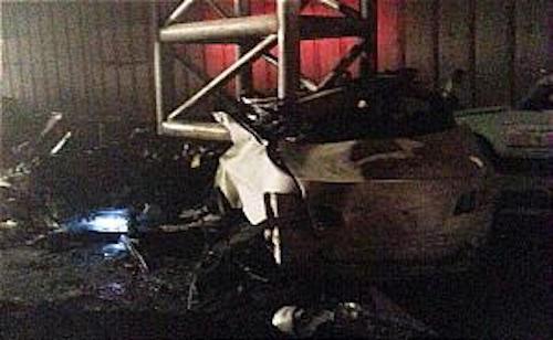 تصاویری از تصادف هولناک BMW در بزرگراه نیایش