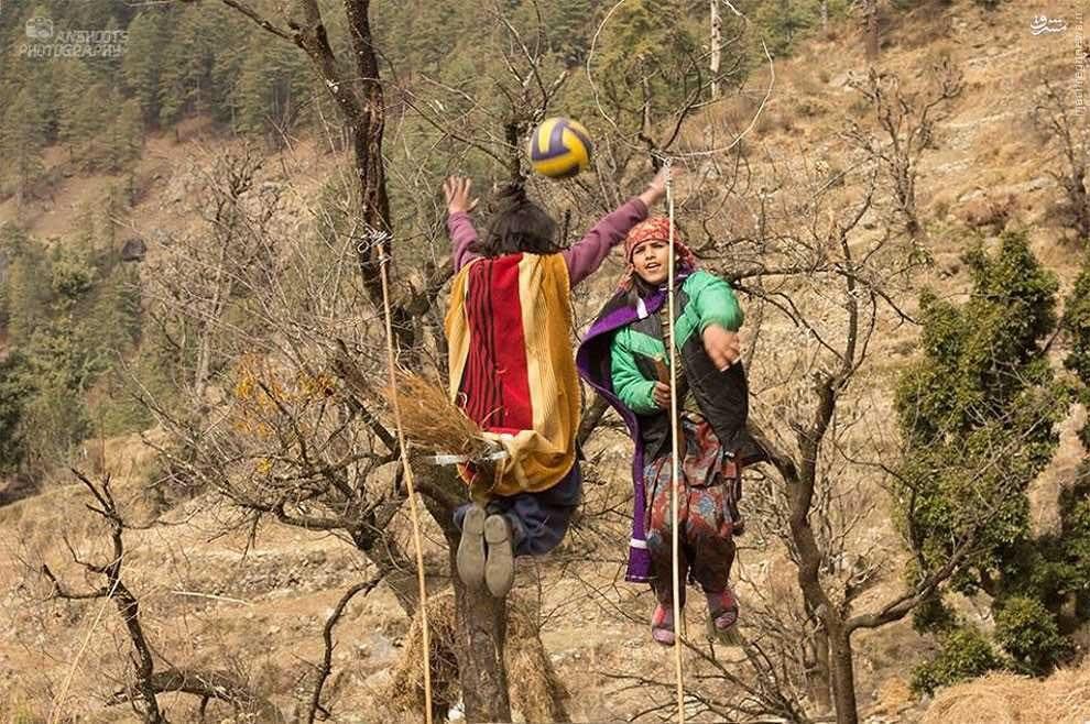 تبدیل کودکان به هری پاتر در هیمالیا