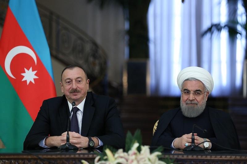 روحانی درنشست مطبوعاتی مشترک با علیاف: همکاری ایران وآذربایجان برای مبارزه باتروریسم گسترش مییابد