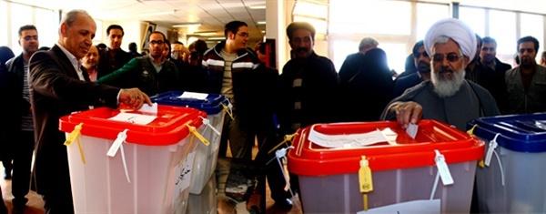 حضور بی نظیر مردم در انتخابات
