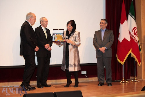رئیس جمهور سوئیس در مؤسسه خیریه محک: انساندوستی در ایران یک فرهنگ است