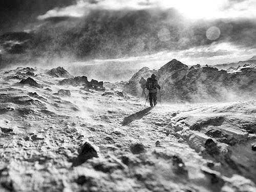 کوهپیمایی در کولاک کوههای انگلیس/عکس روز نشنال جئوگرافیک