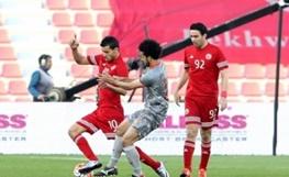 عکس یادگاری دو ستاره فوتبال ایران مقابل باشگاه قطری