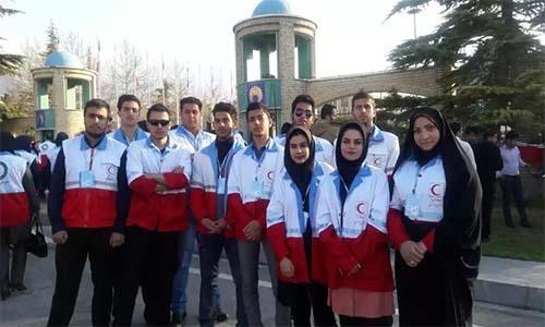 حضور سر تیم های طرح نوروزی استان البرز در دوره آموزشی طرح ایمنی و سلامت مسافران نوروزی