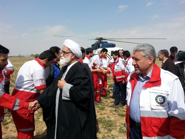 نماینده ولی فقیه در هلال احمر:امداد و نجات قلب هلال احمر است/ارزش کار امدادگران قیمت ندارد