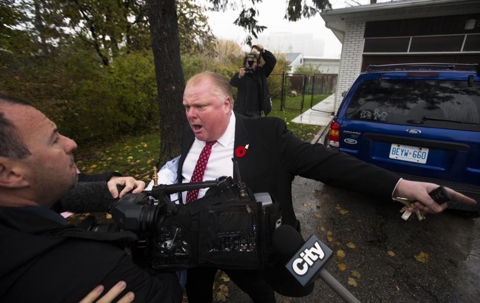 شهردار جنجالی تورنتو درگذشت