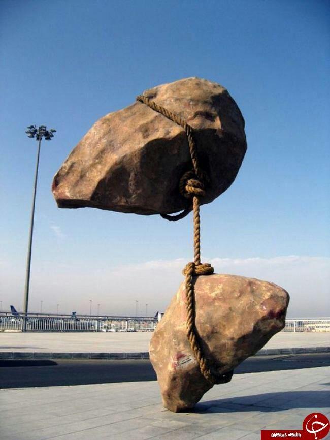 عجیب ترین مجسمه دنیا/ عکس