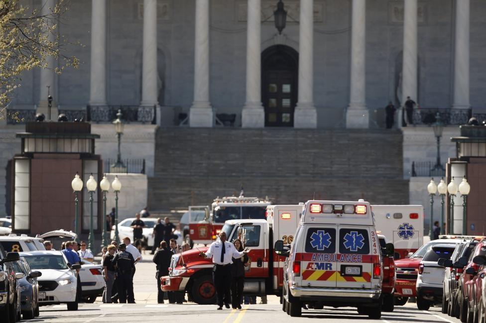 تصاویر رویترز از محل تیراندازی در کنگره آمریکا/ مهاجم بازداشت شد