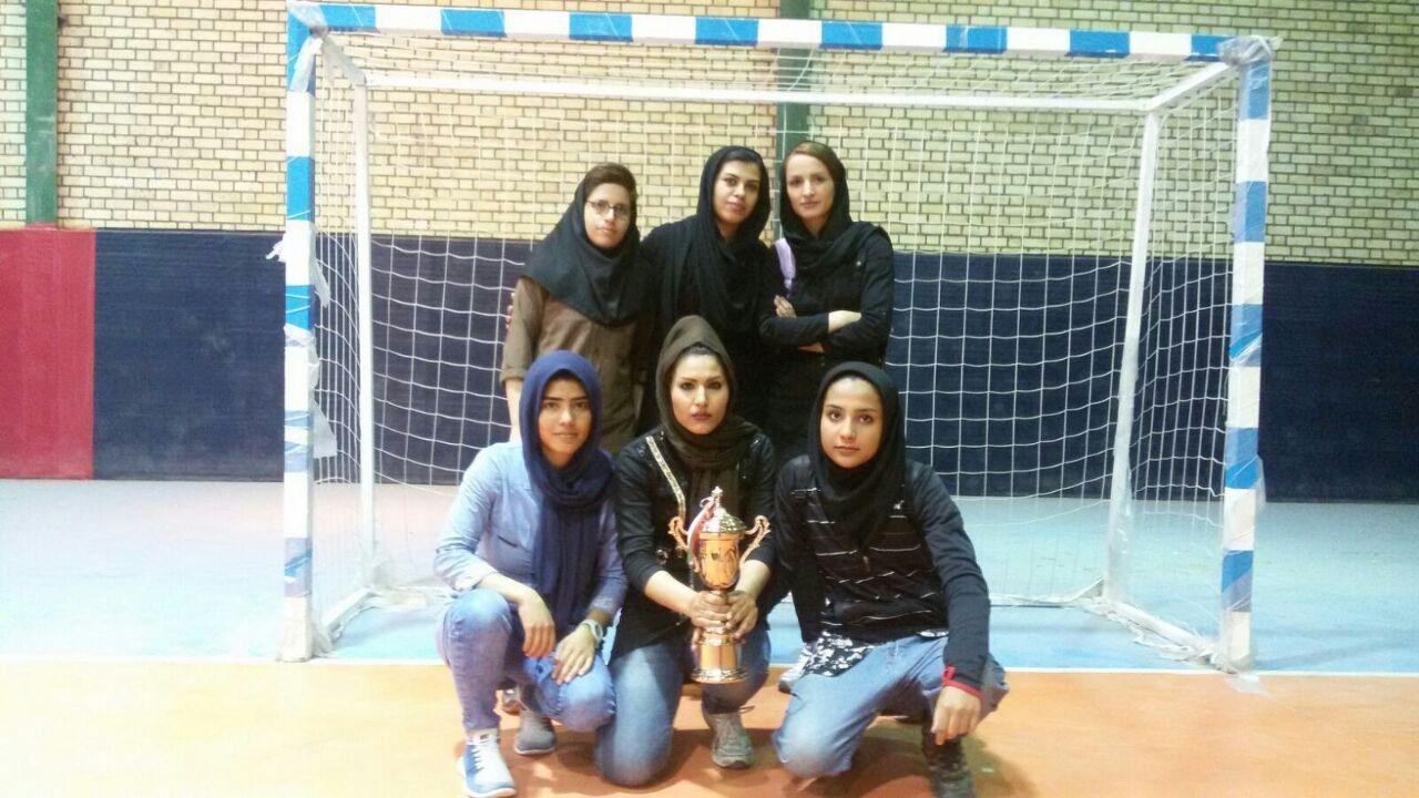 وحدت خوزستان قهرمان فوتسال مسابقات چند جانبه بانوان