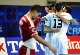 ایران بهترین تیم فوتسال آسیا و پنجم جهان