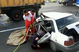آماری از تعداد فوتی ها بر اثر تصادفات رانندگی