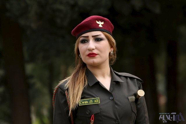 16 4 1 1048214 - این زنان به جنگ داعش میروند+تصاویر