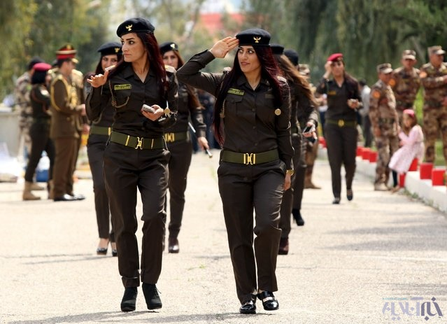 16 4 1 1049278 - این زنان به جنگ داعش میروند+تصاویر