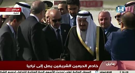 آغوش باز اردوغان برای پادشاه سعودی