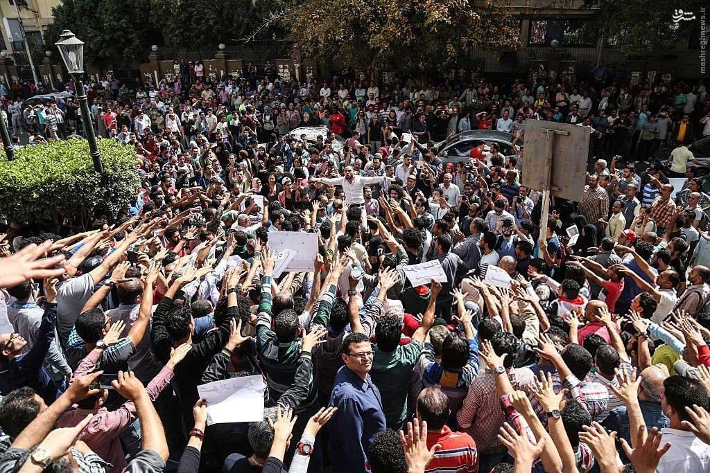 تظاهرات علیه ناموس فروشی در مصر