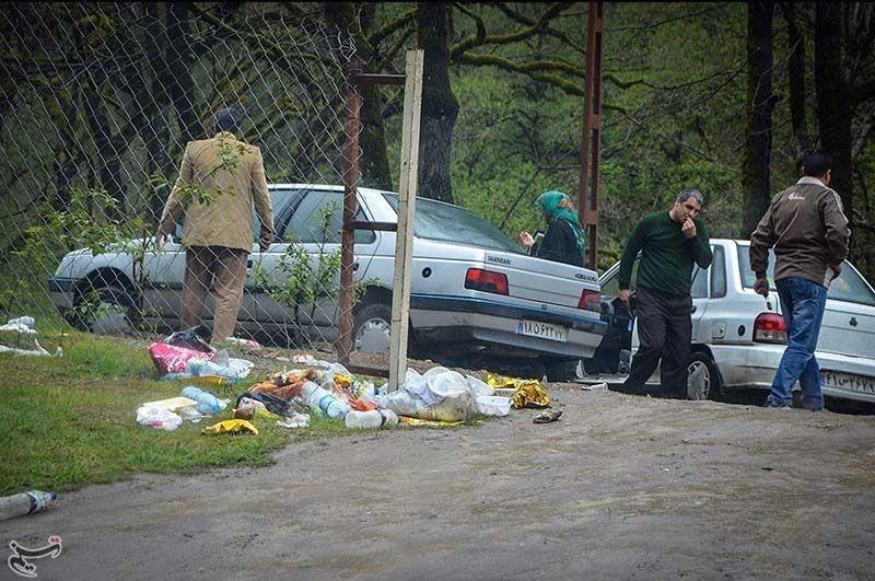 یادگاری های روز طبیعت در مازندران