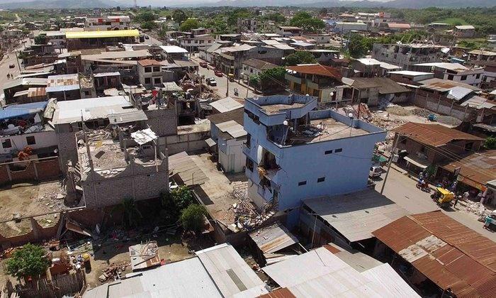 آخرین آمار زلزله اکوادور؛ 525 نفر کشته و 4027 نفر زخمی