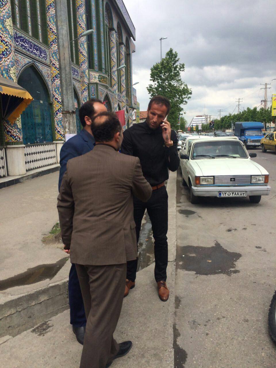 تصاویری از مراسم ختم مهرداد اولادی در قائمشهر