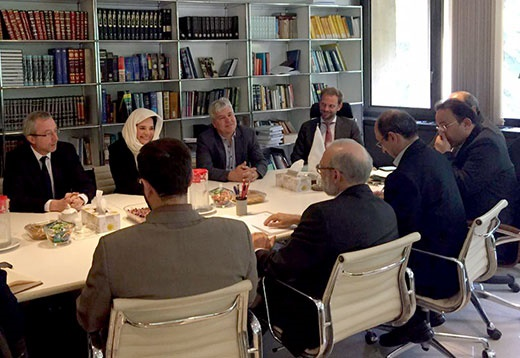 جواد لاریجانی در دیدار رئیس مجلس سنای بلژیک: تجربه انقلاب اسلامی ما را قوی ترین کشور منطقه کرده است