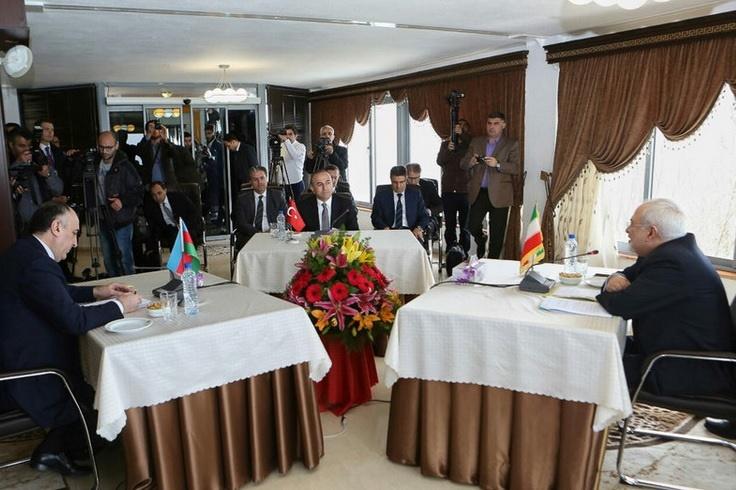 ظریف به وزیر خارجۀ ترکیه چه گفت؟