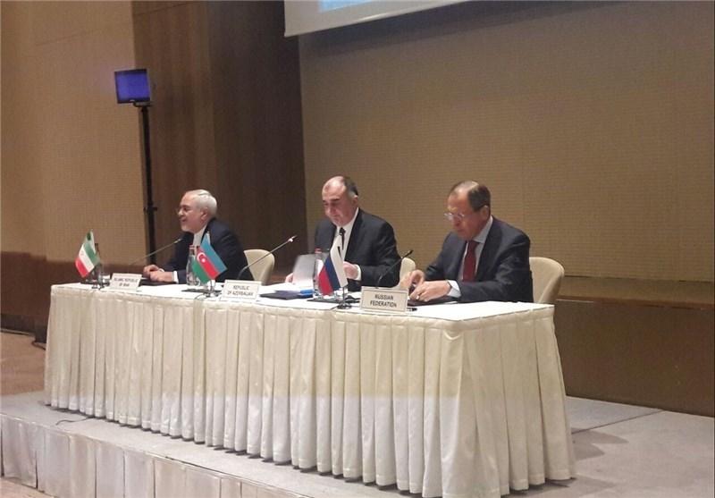 نخستین اجلاس سه جانبه ایران، آذربایجان و روسیه برگزار شد/ بیانیۀ پایانی حاوی چه نکاتی است؟